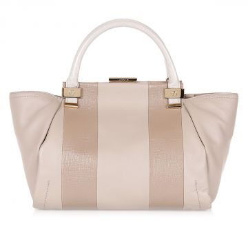 TRILOGY  Leather Tote Bag