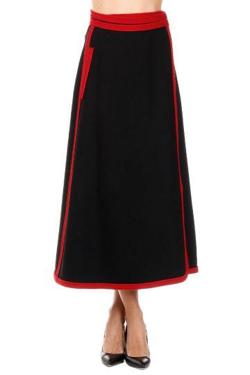 Long Wrapped Skirt