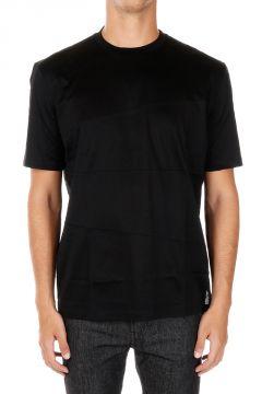 T-Shirt MC DECOUPES ASSYME Girocollo in Jersey di Cotone