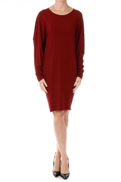 Dolman JERSEY Batwing Sleeves Dress