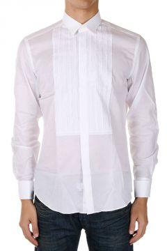 Camicia CINTREE PLASTRON in Cotone