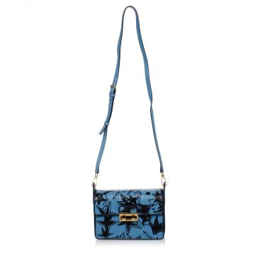 Printed Leather Mini bag