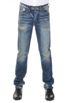 Jeans SELVAGE in Denim Delave 19 cm