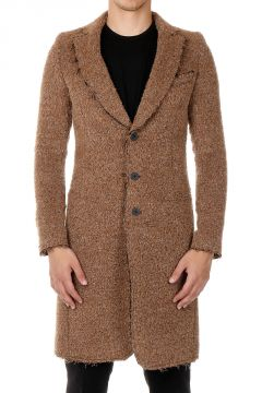 Mixed Alpaca and Wool Coat
