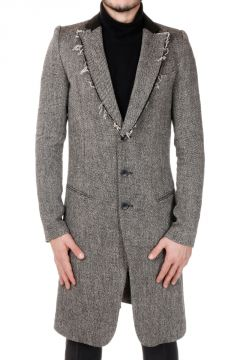Wool and Linen Blend Coat