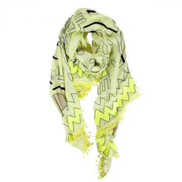 Abstract pattern Foulard