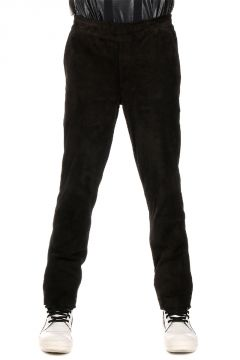Pantaloni in Pelle Scamosciata
