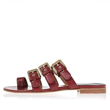Sandalo KIM in Pelle