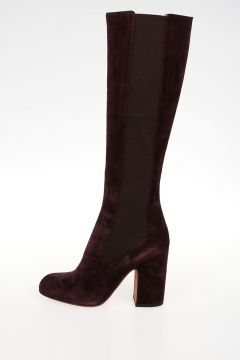 Leather Suede MARISTE Boots
