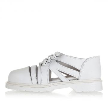 Leather COLETTE Shoes with Zip