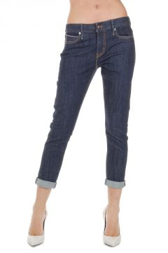 Jeans BOYFRIEND SKINNY FIT in Denim Stretch 14 cm