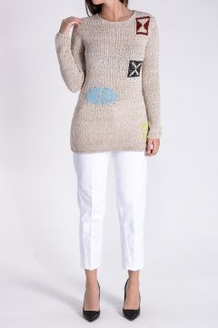 Linen cotton Blend Jumper