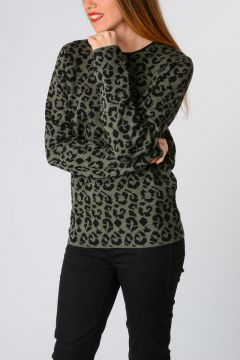 Leo Printed Sweater