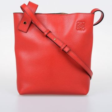 ASYMMETRIC Leather Crossbody Bag