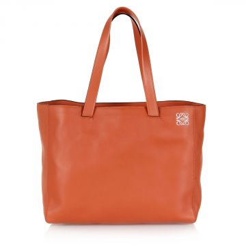 Borsa Shopper EAST WEST in Pelle