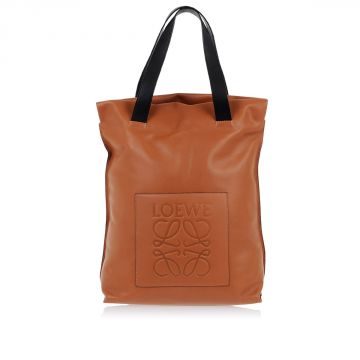 Borsa Shopper In Pelle