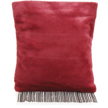 Faux fur Bag with fringes