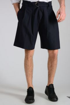 Virgin Wool & Cotton Shorts