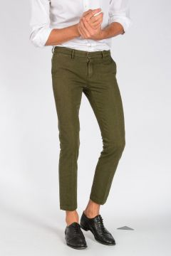 Stretch Cotton MALLARD CIGARETTE Pants