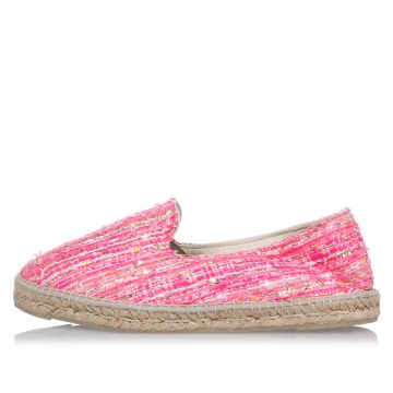 Espadrilles in Woven Fabric