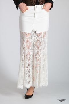 Embroidery Cotton Skirt