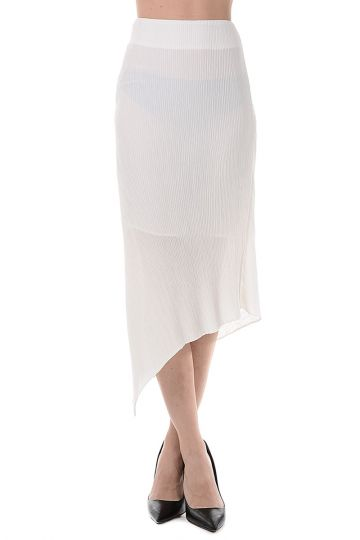 Asymetrical Fabric Skirt
