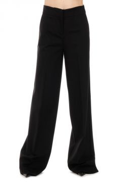 Pantalone BRIONIA Wide Leg in Tessuto stretch