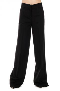 Stretch Fabric Wide Leg BRIONIA Pants