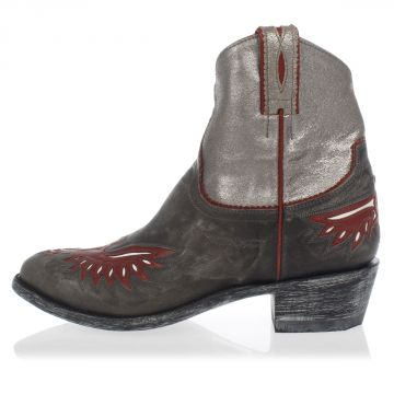 Embroidered Leather RAZZ Western Boots