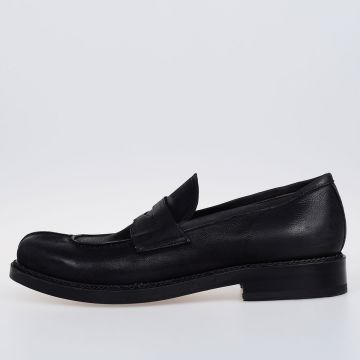 Leather OXIDE WAXI Loafers