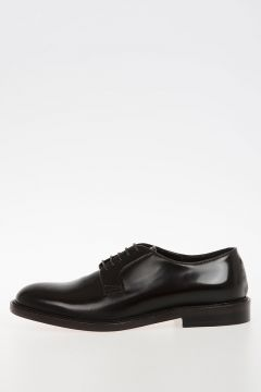 Leather CORDOVAN Derby Shoes