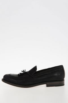 Leather OXIDE WAXY Loafers