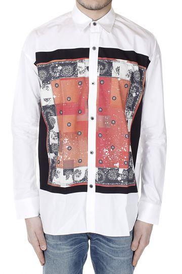 Camicia Maniche Lunghe con Stampa