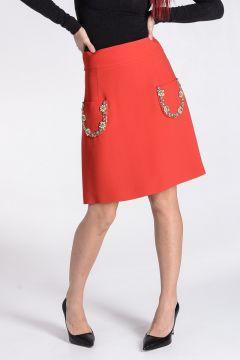 Jewel Embroidered Skirt