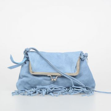 Suede Leather Cross-body Bag