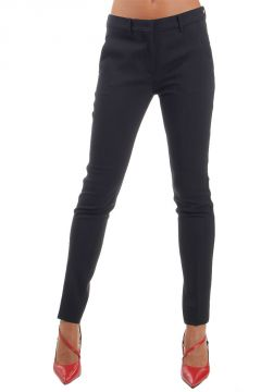 Pantaloni in Lana Vergine Stretch