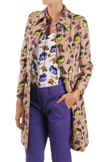 Flower pattern Coat
