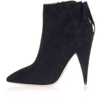 11,5 cm heeled suede ankle boots