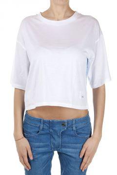 T-Shirt Corta in Jersey con Fantasta Floreale