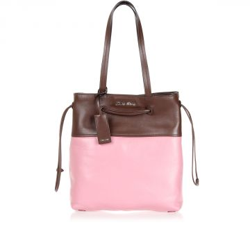 Borsa Shopping in Pelle Vitello Soft