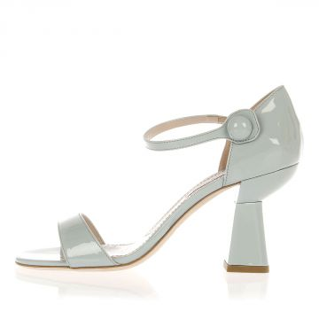 Sandalo in Pelle Verniciata Tacco 8.5 cm