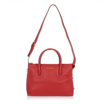 Leather Hand Bag MADRAS Shopping Bag