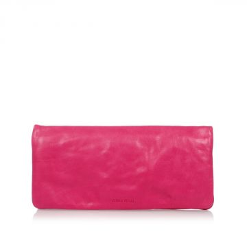 Leather Mini Hand Pochette