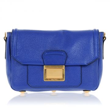 Leather Shoulder BANDOLIERA Mini Bag