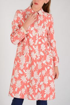 Flowered Embroidered Coat