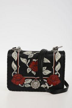 Leather MADRAS FLOR Bag