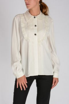 Blouse SABLE + ORGANZA With Chic Buttons
