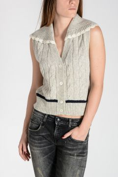 Wool Knitted Crop Top