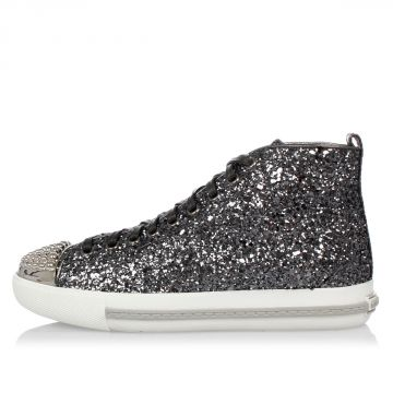 Glitter high Sneakers