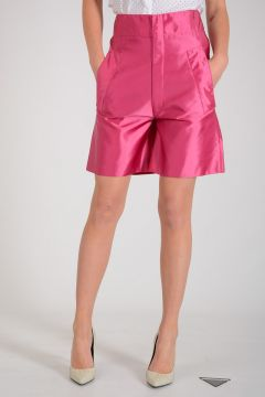 Nylon Bermuda Pants